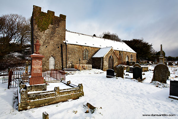 LLangiwg Church near Pontardawe Golf Course (Canon EOS 5D)