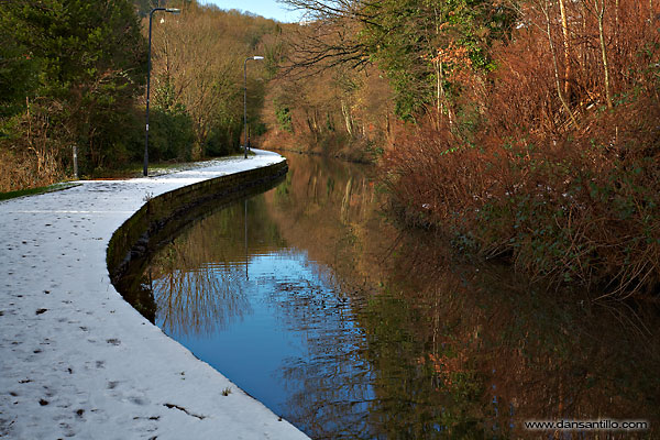 The Swansea Canal in Pontardawe (Canon EOS 5D)