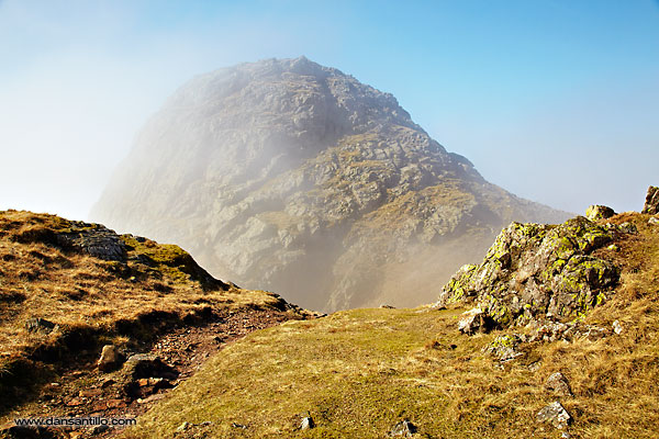 Pike of Stickle, Langdale Pikes (Canon EOD 5D Mark II)