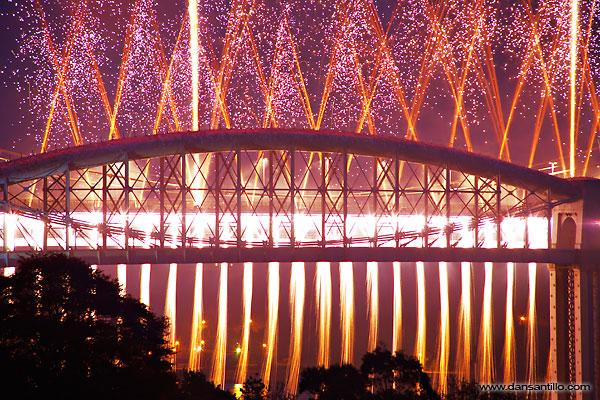 Brunel 150 Celebration Fireworks (Canon 5D)