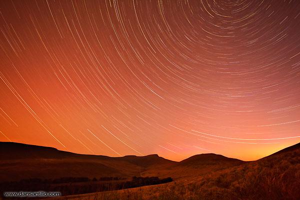 Pen y Fan Star Trails (Canon 5D Mark II) 3 hour exposure