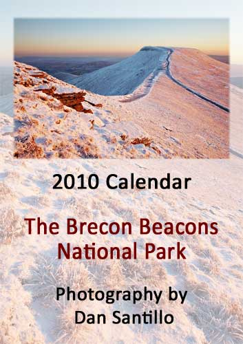 Brecon Beacons Calendar Front Cover