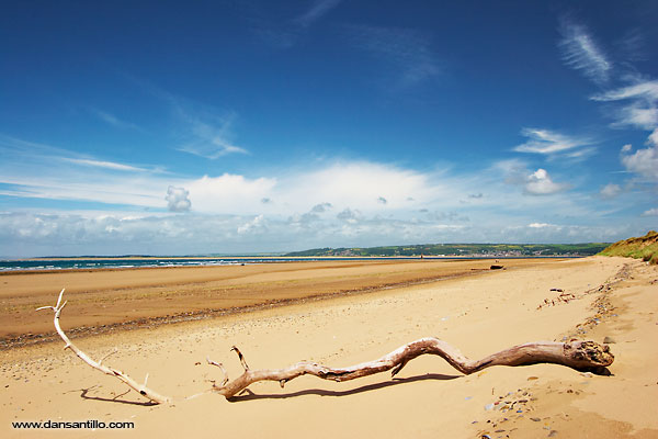 Whiteford Sands on Gower