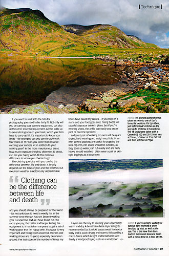 Photography Monthly, August 2009, page 67