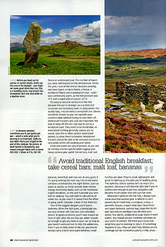 Photography Monthly, August 2009, page 68
