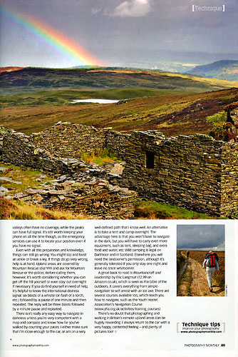 Photography Monthly, August 2009, page 69