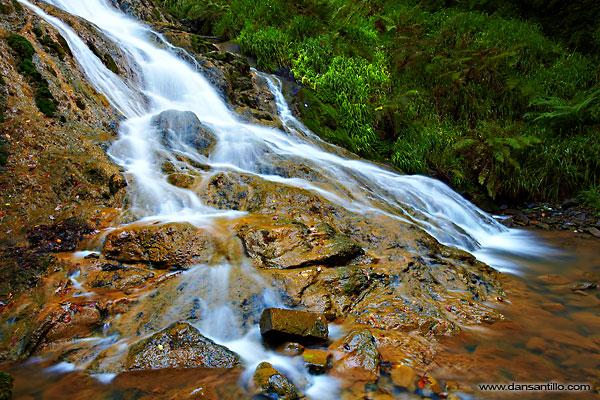 Grey Mare's Tail Waterfall, Llanrwst (Canon EOS 5D Mark II)
