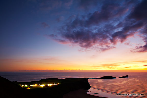 Rhossili and Worms Head (Canon EOS 5D)