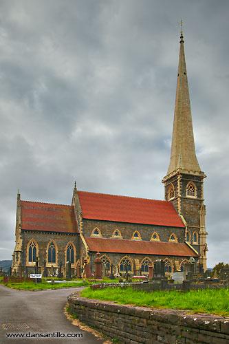 St Peter's Church, Pontardawe (Canon EOS 5D Mark II)