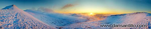 Corn Du, Pen y Fan, Upper Neuadd Reservoir and beyond (Canon EOS 5D Mk II)