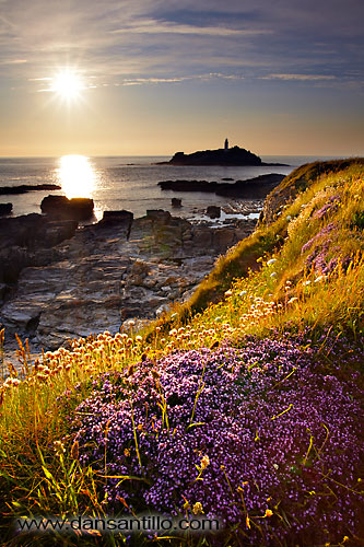Godrevy Lighthouse, Godrevy Point, Cornwall