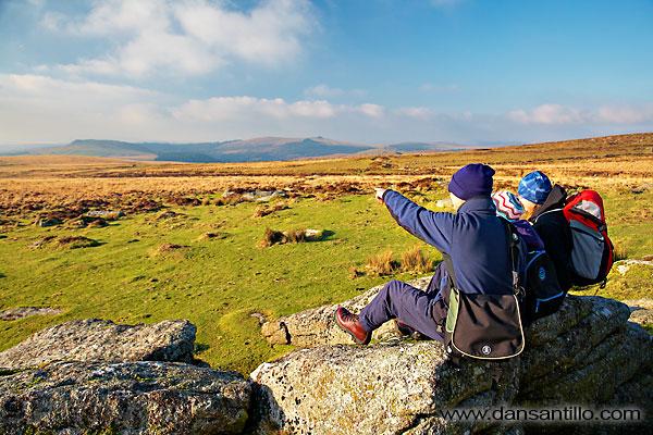 Higher Hartor Tor on Dartmoor