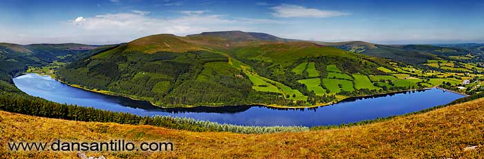 Talybont Reservoir from Tor y Foel