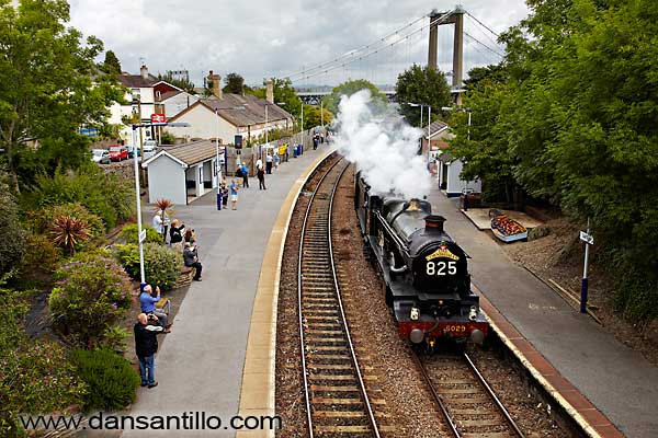 The Cornishman at Saltash Station