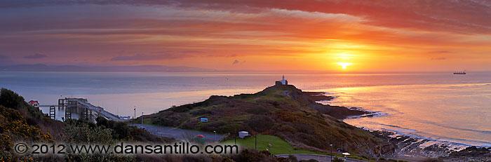 Mumbles Pier, Mumbles Lighthouse and Bracelet Bay