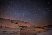 Llyn y Fan Fawr with Gemini, Auriga and Perseus