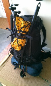 My 21Kg rucksack for my Brecon Beacons night shoot