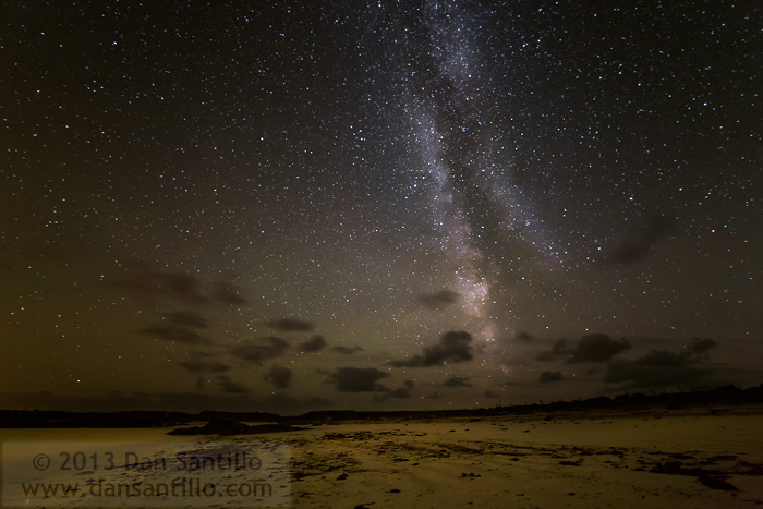 The Milky Way over Gurteen Bay