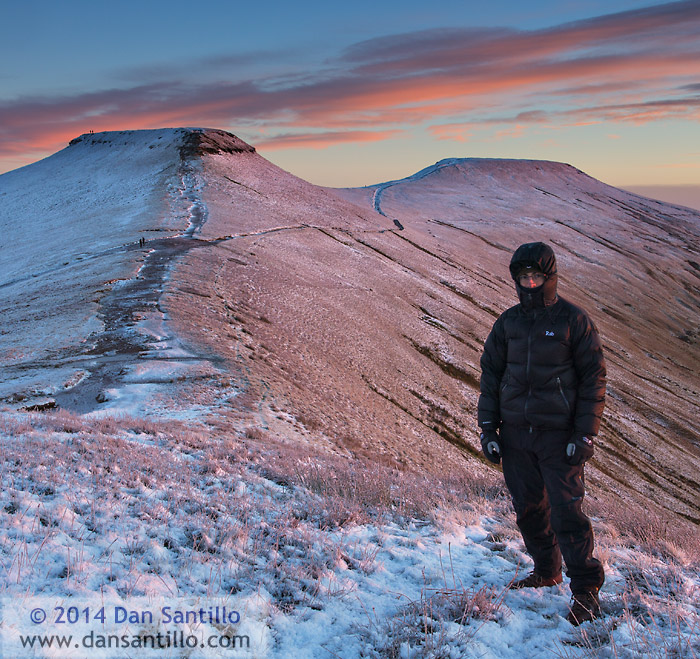 Me, Corn Du and Pen y Fan