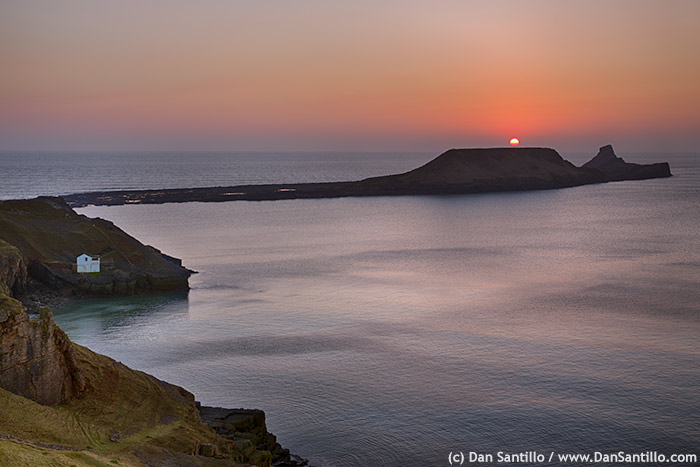 Worms Head and Rhossili Bay