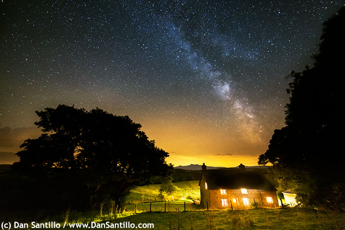 The Milky Way in the Brecon Beacons