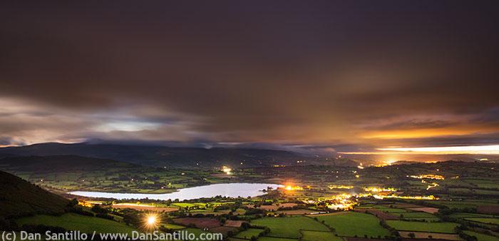 Llangorse Lake from Mynydd Llangorse