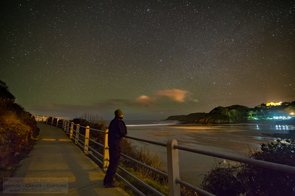 Caswell Bay with Airglow