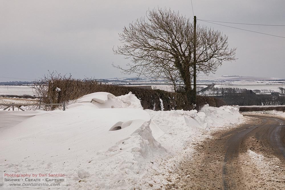 Rhossili Snow Drifts