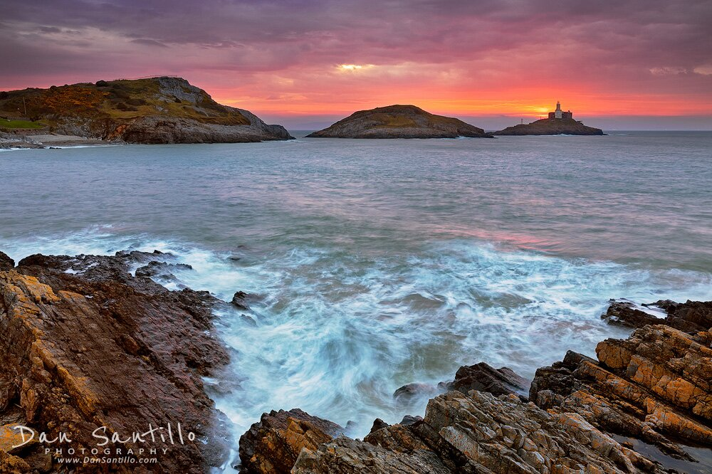 Mumbles Lighthouse, Bracelet Bay