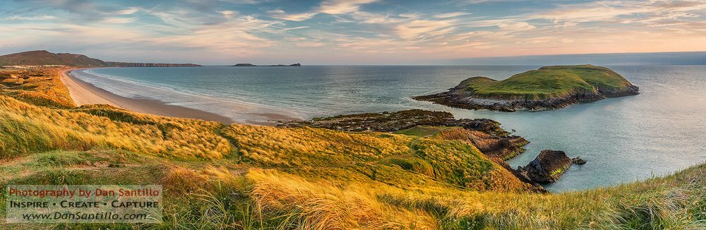 Burry Holms, Llangennith, Worms Head and Rhossili Bay