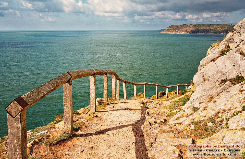 The Path to Caswell Bay