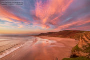 The Most Amazing Sunset Ever at Rhossili, Gower