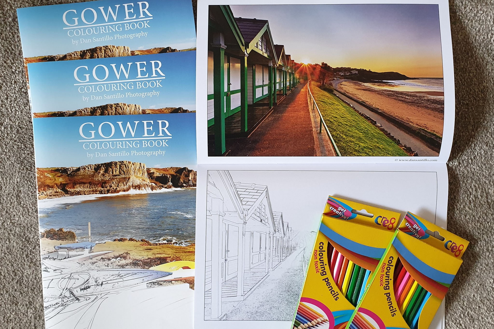 Gower Colouring Book