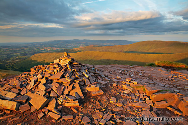 The summit of Cribyn