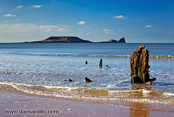 Worms Head and the Helvetia, Gower