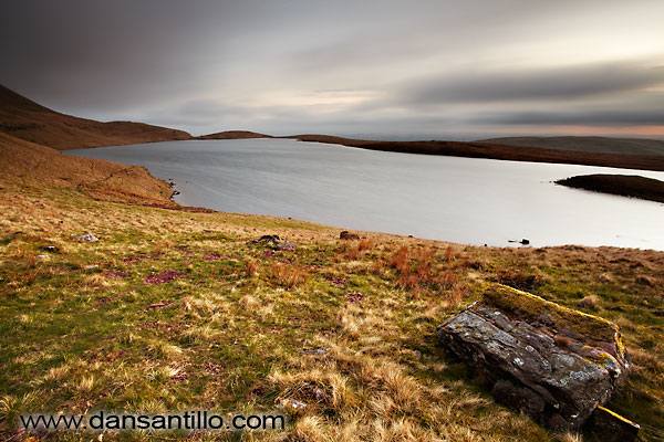 Llyn y Fan Fawr before sunrise