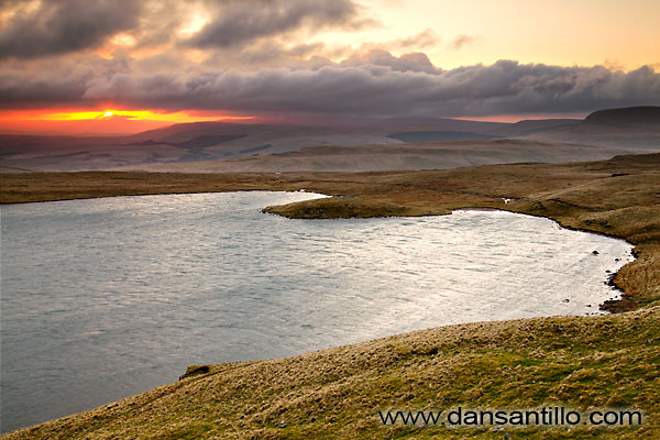 Sunrise at Llyn y Fan Fawr