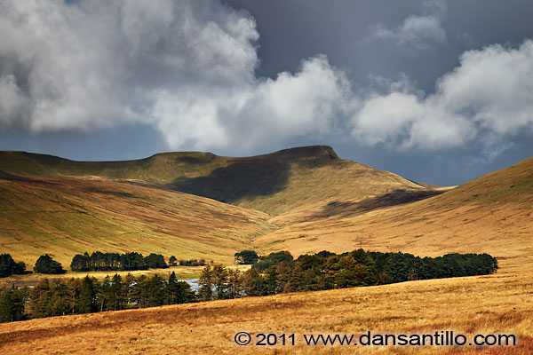 Corn Du, Pen y Fan and Cribyn