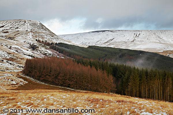Talybont Forest and Craig y Dan Ddu