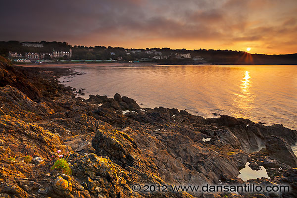 Langland Bay from Snaple Point